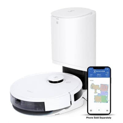 Target - Ecovacs Deebot N8+ Robot Vacuum and Mop with Auto-Empty Station (with Target Redcard payment) $379.99