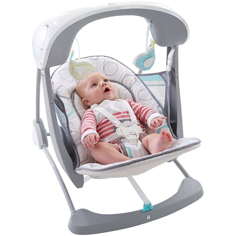Fisher Price Deluxe Take-Along Swing & Seat - $39.99 + (FS - above $50)