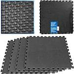 Stalwart 16 sq ft Ultimate Comfort Foam Flooring, Black, 4pc - $16.97 + Free Pickup in Store