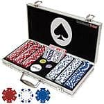 Trademark Poker Maverick 300 Dice Style 11.5g Poker Chip Set  - $19.99 + Free Pickup in Store