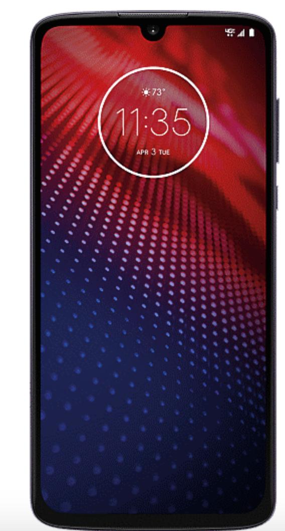 Motorola Moto Z4 for Verizon Wireless Upgrade and New customers - $120 + $20 activation + free ship