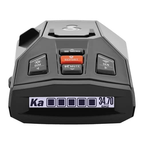 Cobra iRad Laser Radar Detector – iRadar App, RAD450 Technology with Bluetooth. $149.95  Amazon