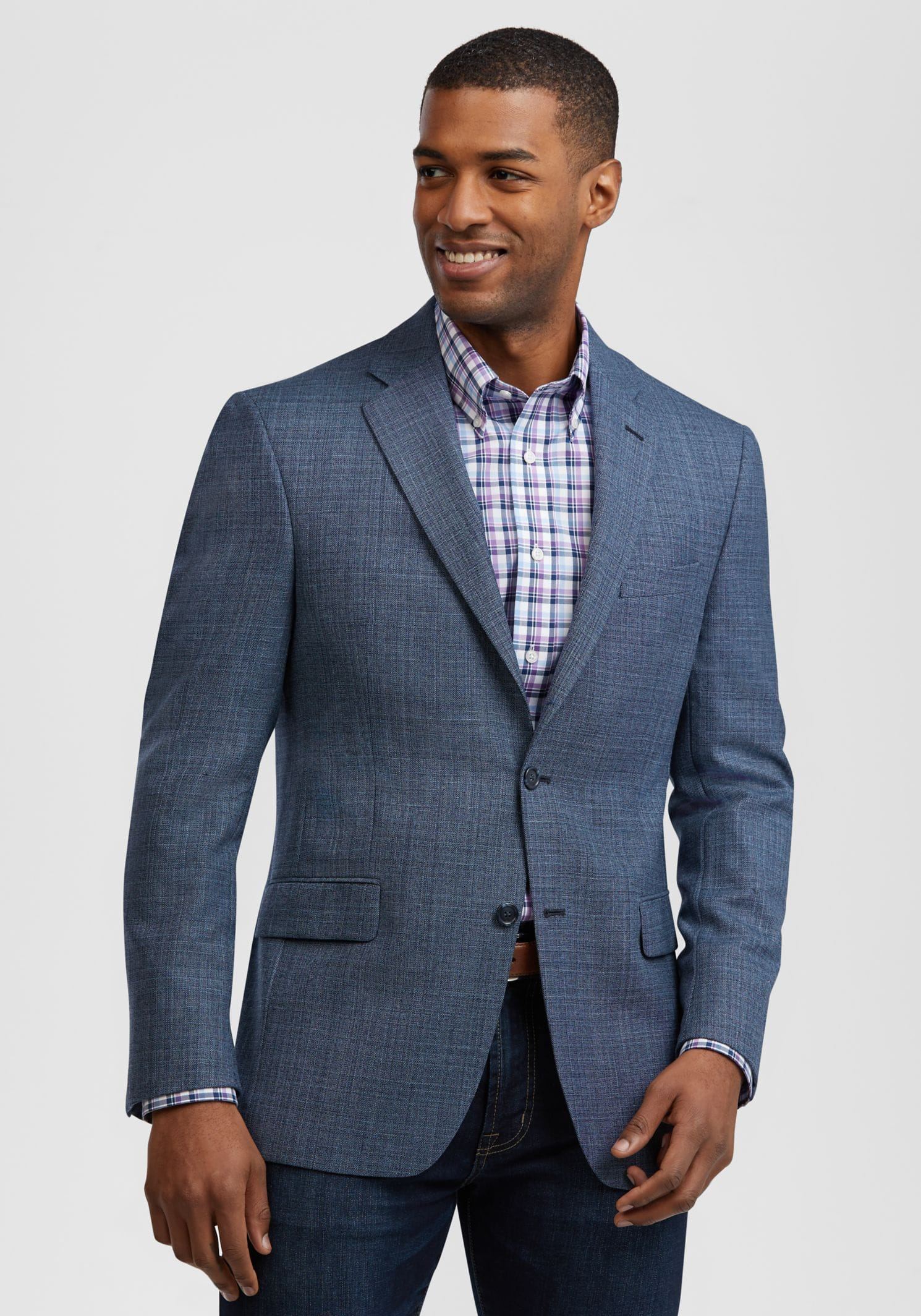 Jos a bank Traveler Collection Traditional Fit Textured Sportcoat $23.50 shipped