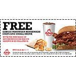 Buy Bacon Sandwich and get Parmesan Chips and small drink Free @ Arby's