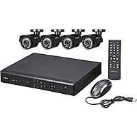 Newegg Deal: SHIELD Series RSCM-0708B041 - Four 700TVL Cameras 8-Channel, H.264-Level DVR Surveillance Kit for $114.99 FS AC