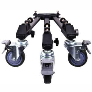 Dolica LT-D100 Professional Lightweight and Heavy Duty Tripod Dolly for $29.99 FS w/Prime