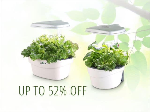 Ecopro LED Indoor Hydroponics Garden Smart Control Systems 5-pods for $99.99 and 8-pods for $119.99 FS