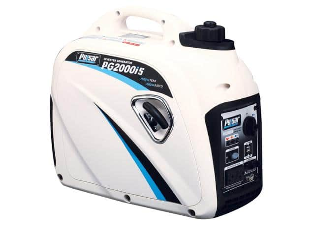 Pulsar PG2000IS 2000 Watt Digital Inverter Gas Generator with 80cc OHV Engine and 1.18 Gallon Tank for $359 FS