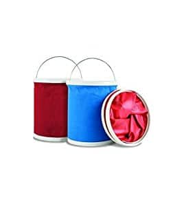 Maxkin Twin Pack Folding Bucket for $7 FS with Prime