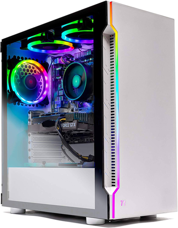 SkyTech Archangel Gaming Desktop: Ryzen 2600X, GTX 1660, 16GB DDR4, 500GB SSD $660 + Free Shipping