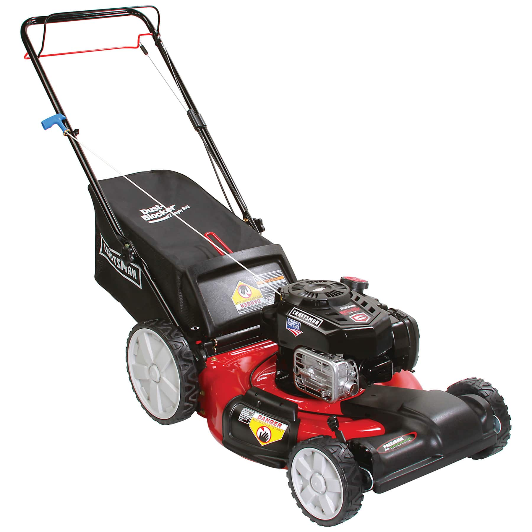 "Sears Craftsman 163cc 21"" Check & Add Front Wheel Drive Lawn Mower w"