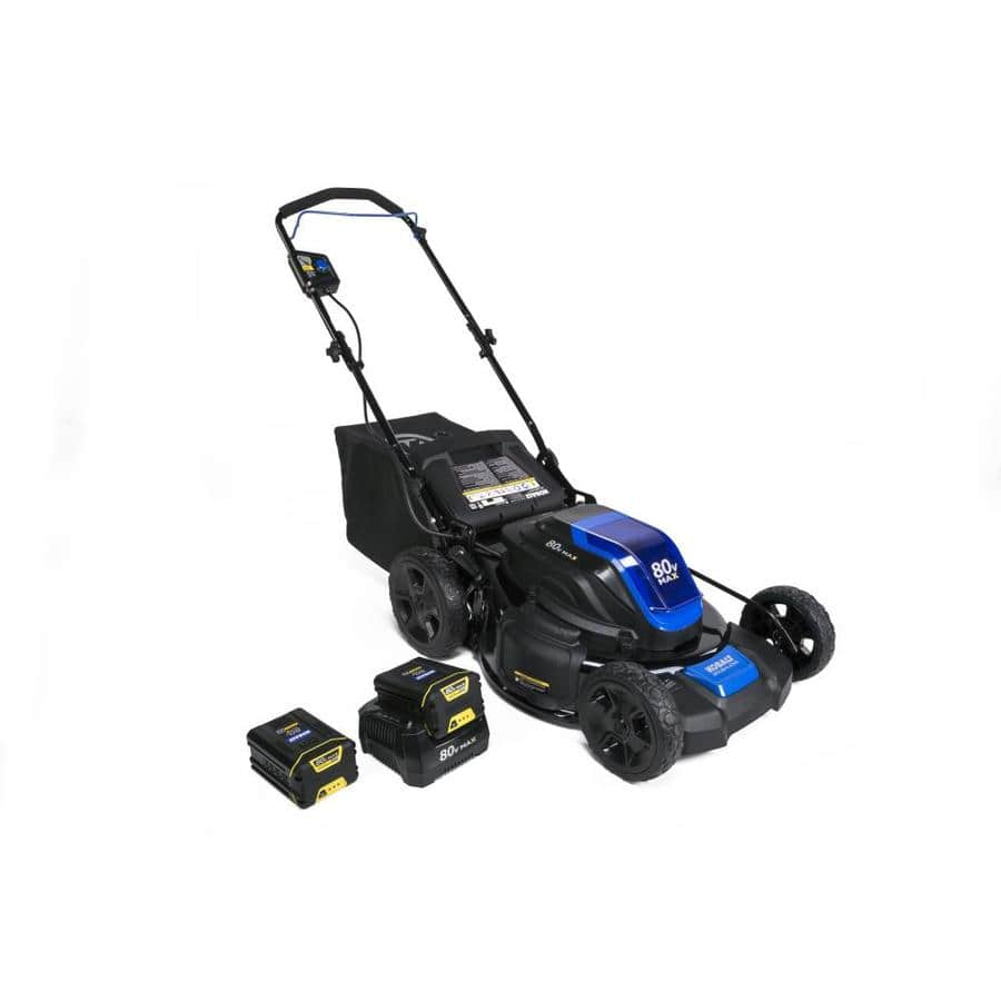 Kobalt 80v Brushless Push Lawnmower, with 2 batteries and charger, $159 YMMW @ Lowe's (certain regions) - orignally $399 $159.6