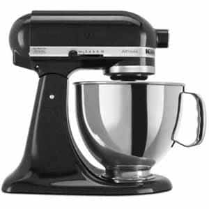 Fry's Email Exclusive: KitchenAid Artisan® Series 5-Quart Tilt-Head Stand Mixer - Caviar for $139.99 (after Promo Code and Mail-In Rebate)