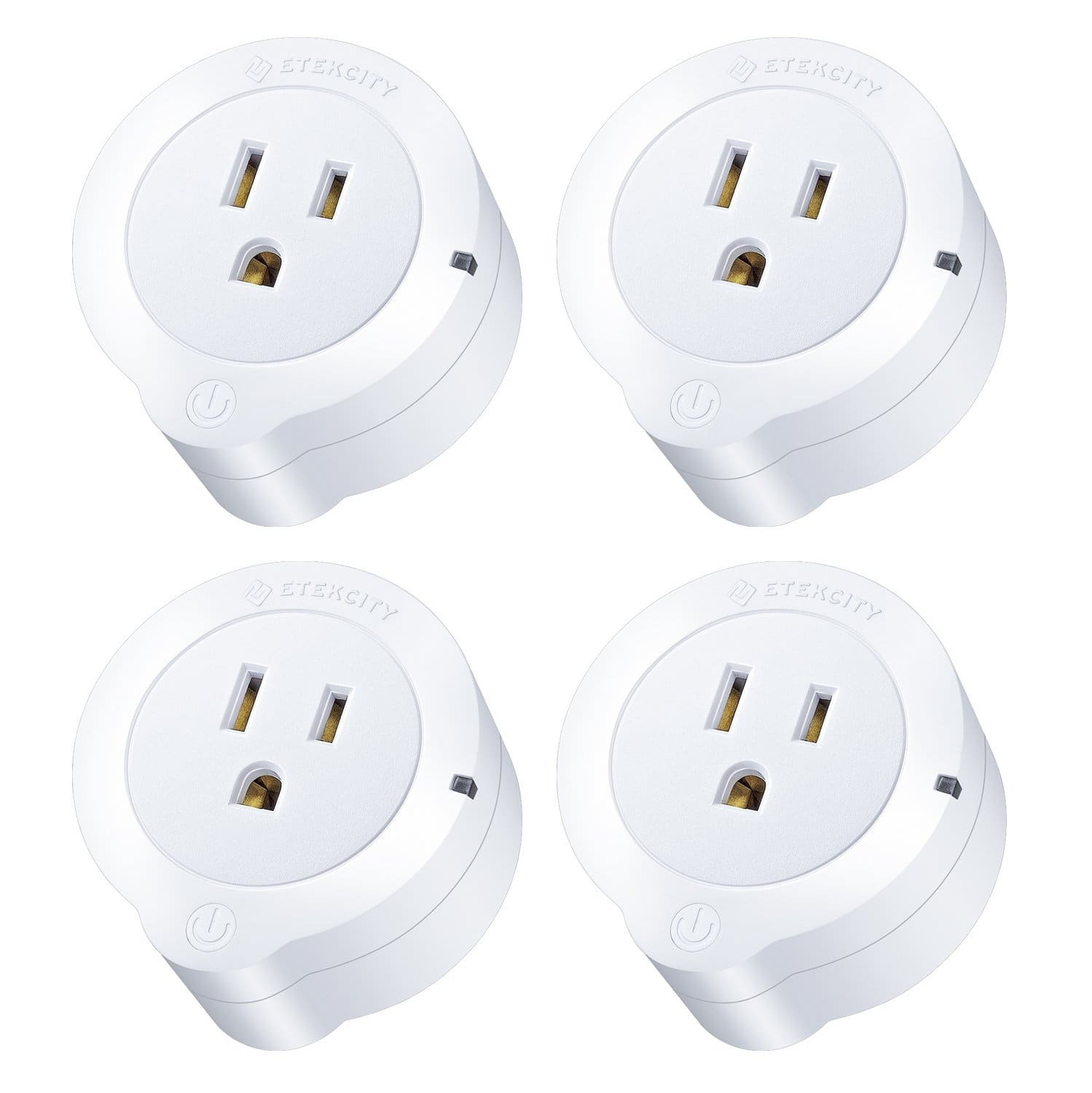 Etekcity 4 Pack WiFi Smart Plug Mini Outlet; Works with Amazon Alexa $42.99