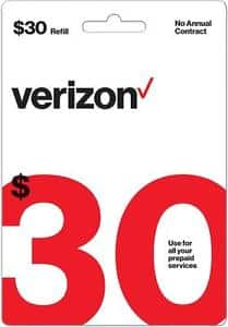 Verizon Prepaid Refill $19 for $30 airtime YMMV Possible Targeted Offer