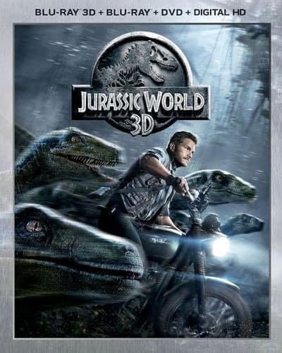 Jurassic World 3D Blu-ray $11.99 and more @Best Buy