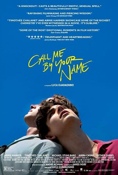 AMC Stubs Members: Register & Catch CALL ME BY YOUR NAME to Get 2,000 Points Feb 2-4 @ AMC Theatres