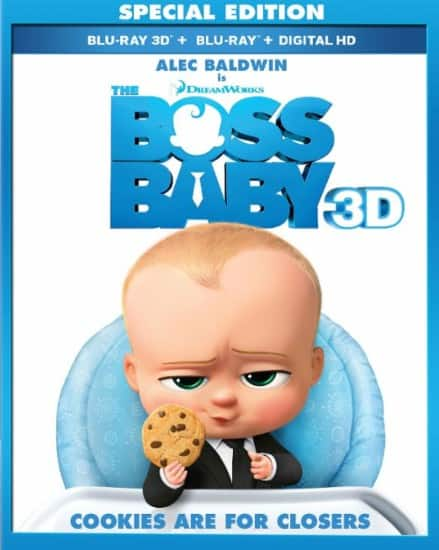 Boss Baby 3D Blu-ray/Blu-ray $15 @ Best Buy