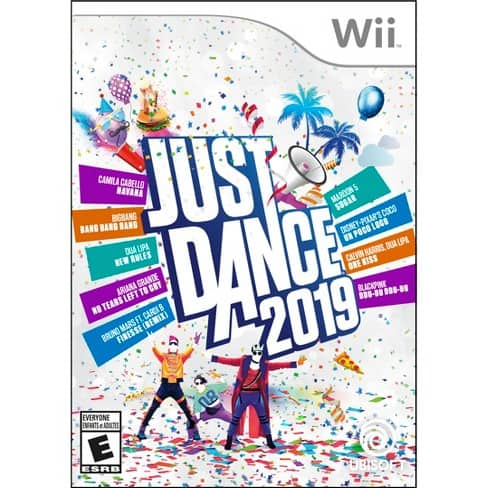 Just Dance 2019 at Target Wii $19.99 Switch 24.99 Wii U 24.99 PS4 $24.99 Xbox One $24.99