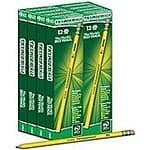 Ticonderoga No. 2 Soft Pencils, 72-Count $9.35+ free shipping