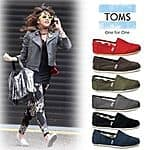 Toms Womens Classic Canvas $29.99+ free shipping@ ebay