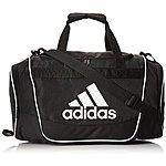 adidas Defender II Duffel Bag Small Black $21.99@amazon
