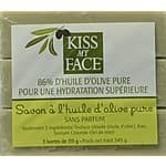 Kiss My Face Naked Pure Olive Oil Bar Soap,4oz Bars, 3 Count $4.10+ free shipping@ amazon