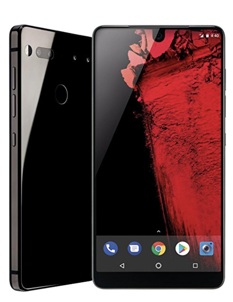Essential Phone in Black Moon – 128 GB Unlocked - Amazon Used - Both Titanium and White $271.99