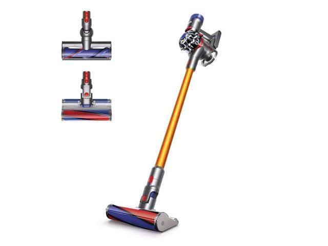 DYSON V8 ABSOLUTE CORDLESS VACUUM REFURBISHED $300 + $25 Newegg Gift Card + 600 egg points