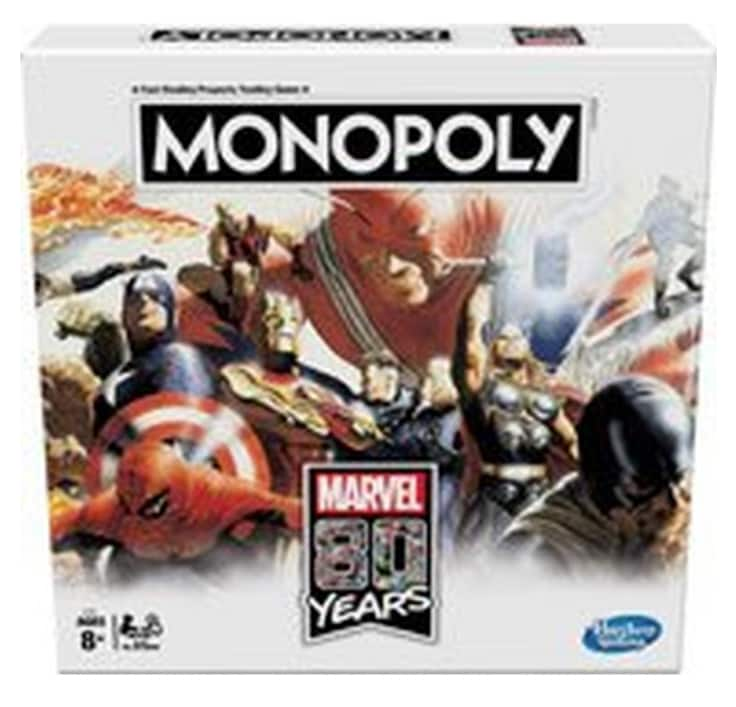 Monopoly Marvel 80 Years Edition