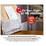 Noodles & Company $4 off any online purchase of $10 or more-CODE:JUNELOVE