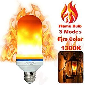 LED Flame Light Bulbs Fire Flicker Effect Lamp Decorative @ Amazon $12.65