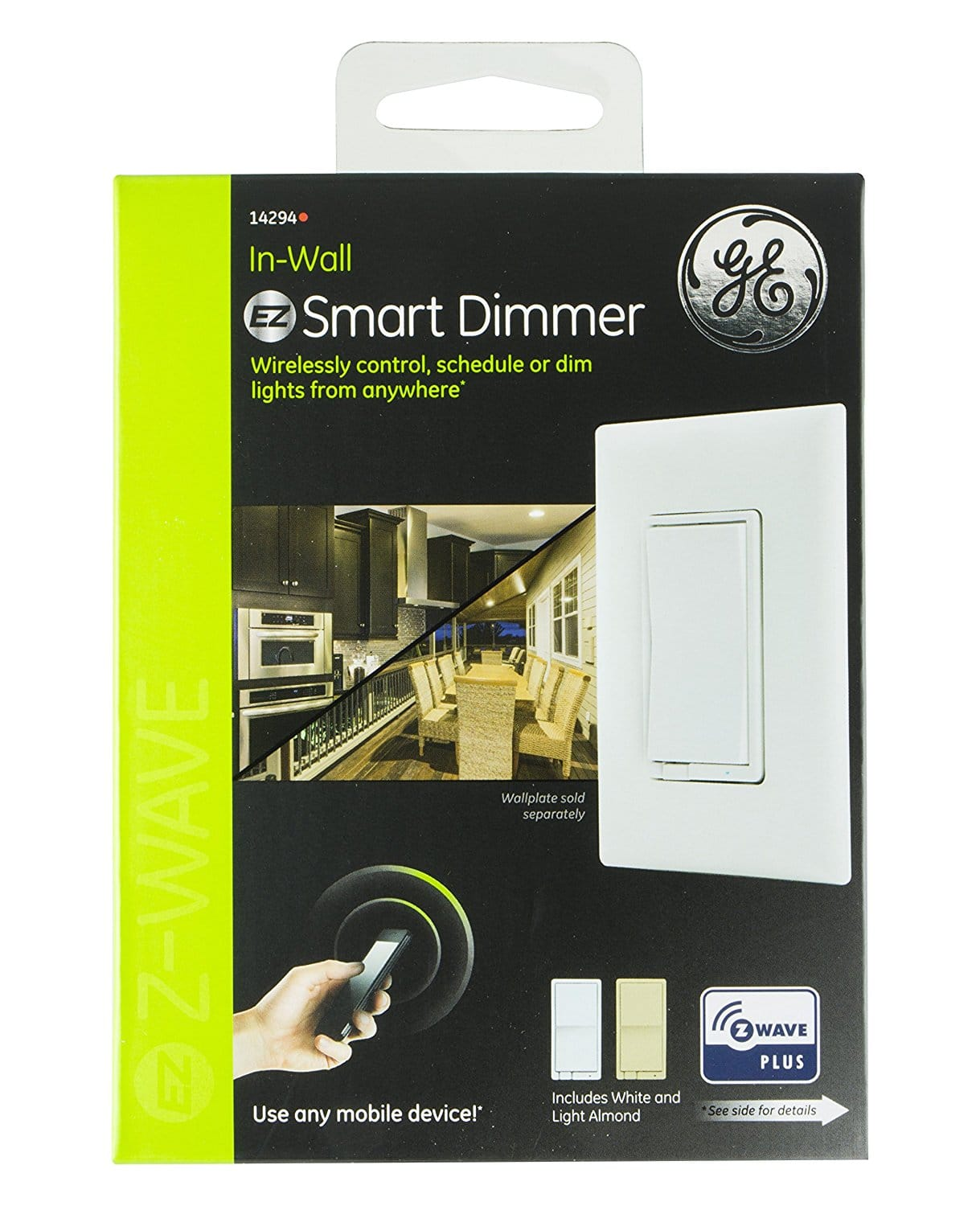 [Lowes] GE Z-wave plus on/off from $22.99 or Dimmer from $28.32