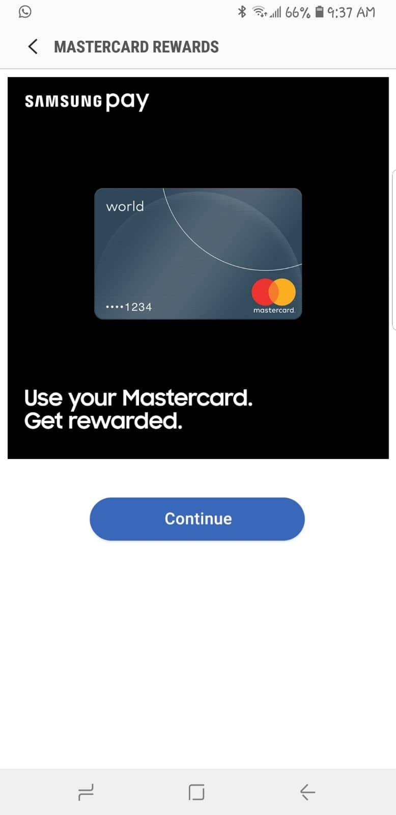 Samsung Pay : Earn 10$ Amazon Gift card with 3  master card purchases for Galaxy S9/S9+ users