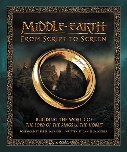 AMAZON or WALMART - $27.50 Middle-earth from Script to Screen: Building the World of The Lord of the Rings and The Hobbit Hardcover BOOK