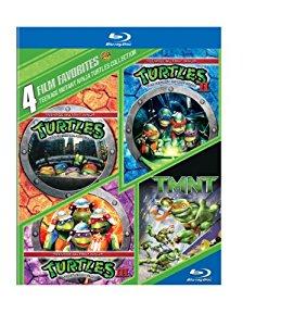 Amazon Add On: 4 Film Favorites: Teenage Mutant Ninja Turtles Collection BluRay  $5.00