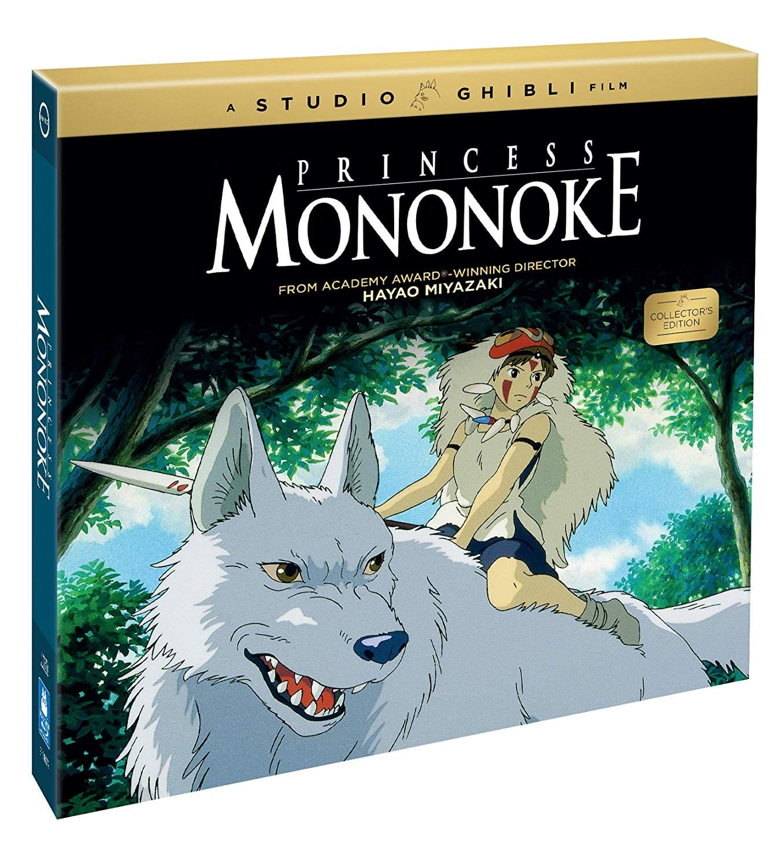 Princess Mononoke: Collector's Edition Pre-Order (Blu-Ray/CD/Book