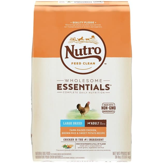 Nutro Dog food B1G1 Free at Chewy.com YMMV 49.92 for 2 30lb bags