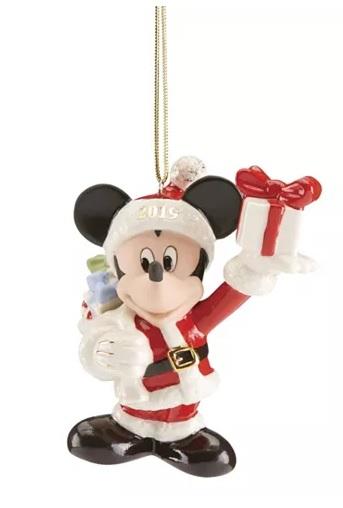 Lenox Christmas Disney Ornament Collection @ Macys $15 Free Ship at $25