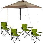 13x13-Foot Canopy w/ 4 Folding Camp Chairs for $109 w/ FS at Walmart