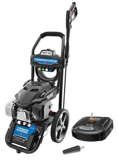 "Powerstroke 3100PSI Yamaha Gas Pressure Washer with 14"" Surface Cleaner and Turbo Nozzle - $289.99"