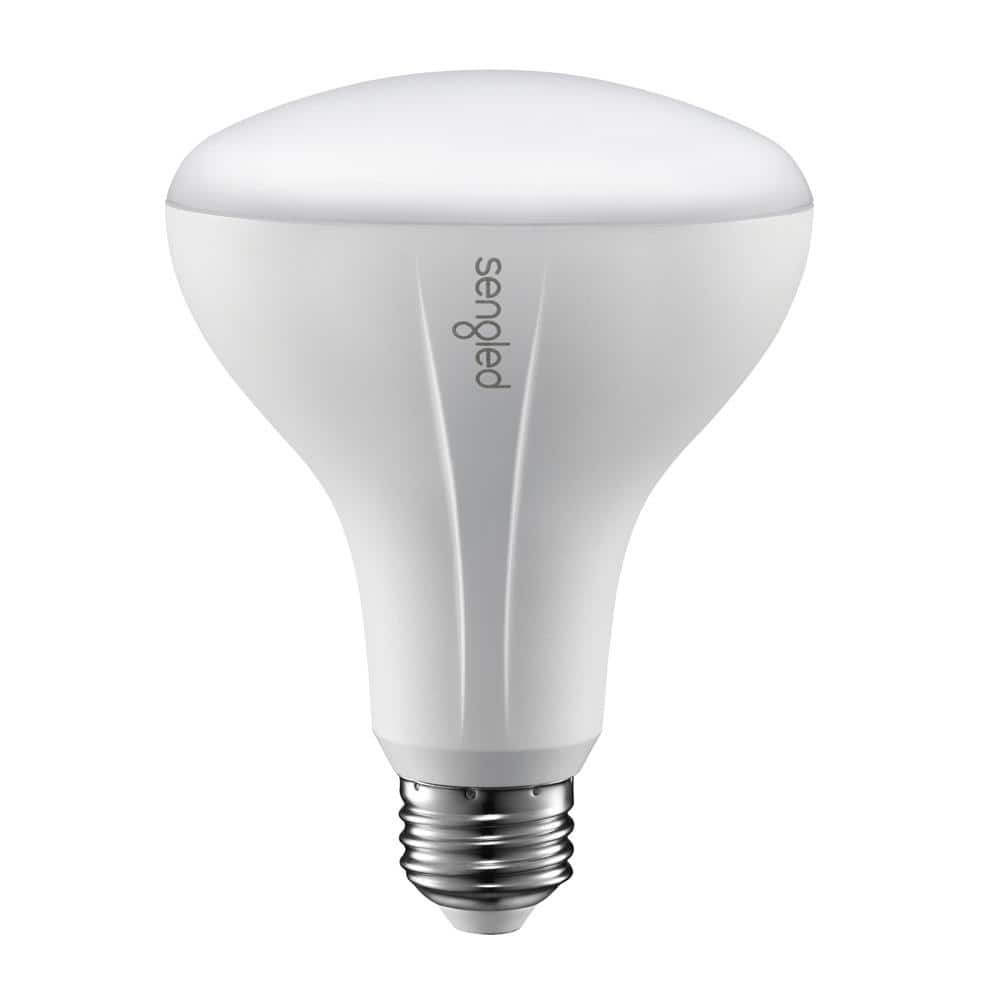 Sengled Element Classic 65W Equivalent Soft White BR30 $10 LED Light Bulb, White, Smart