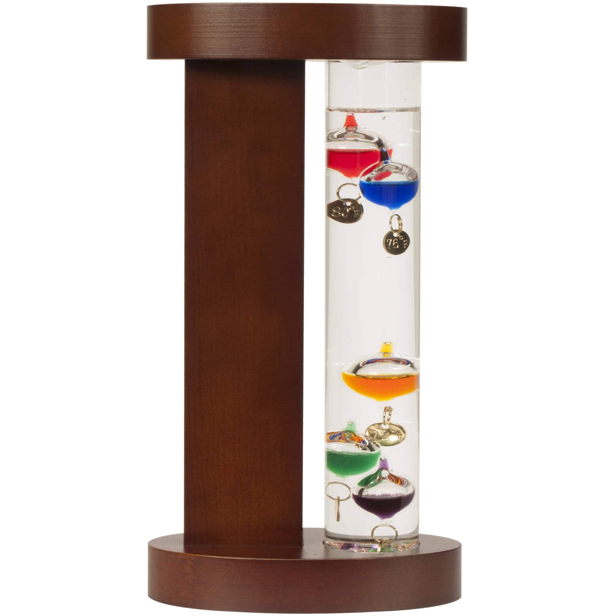Galileo Thermometer with Wood Stand for $4.88 @Walmart