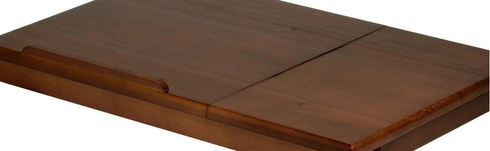 Alden Lap Desk/Bed Tray with Drawer, Walnut for $17