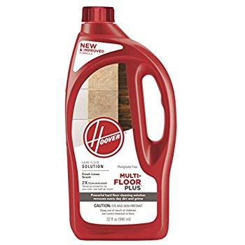 Hoover AH30425NF Hard Floor Cleaner Detergent Solution, Multi-Floor 2X Concentrated Formula, 32 oz for $3.99 or Less
