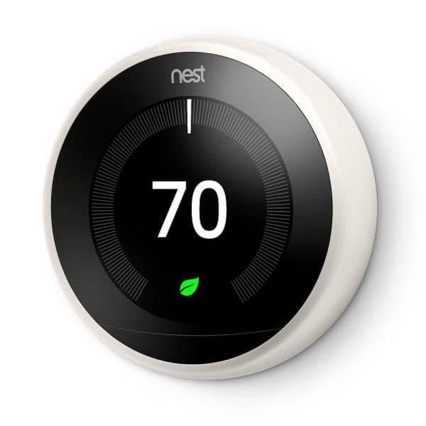 YMMV - Nest Learning Thermostat 3rd Gen in White - $139 (Regularly $249). (Stainless version $179)