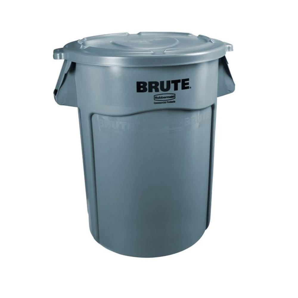 32 Gallon Rubbermaid Commercial Brute Trash Can W Lid