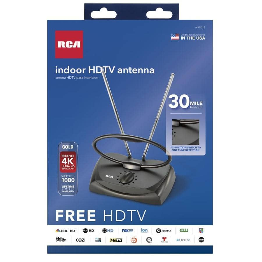 Lowes RCA Indoor HDTV Tabletop Antenna $2.59 YMMV