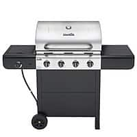 Lowes Deal: $154-Char-Broil Advantage Black/Stainless 4-Burner (32,000-BTU) Liquid Propane Gas Grill with Side Burner