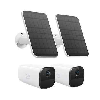 eufy Security by Anker Solo Pro 2-pack Standalone Security Cameras with Solar Panels Costco membership required  - $249.99